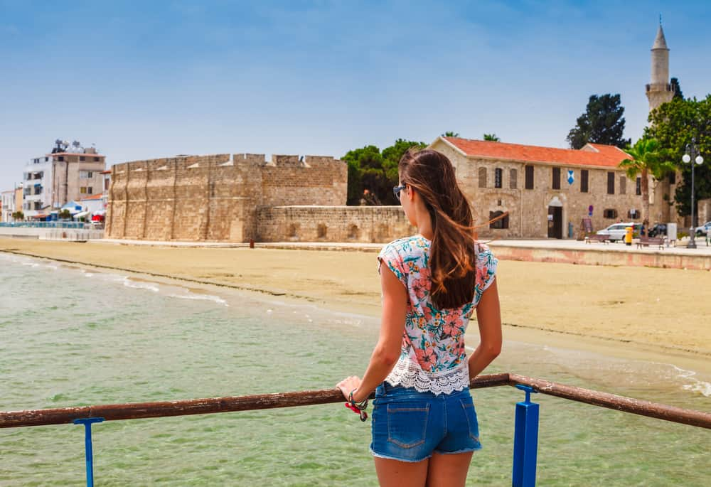 Larnaca på Cypern