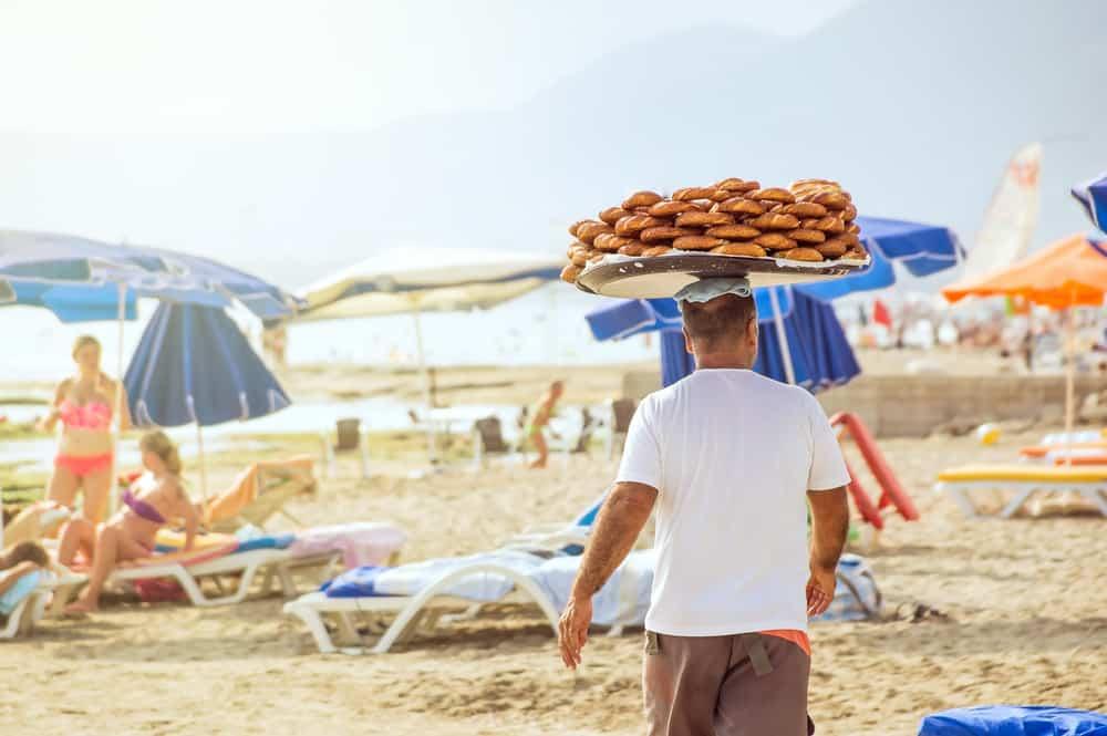 Strandsælger - Alanya i Tyrkiet