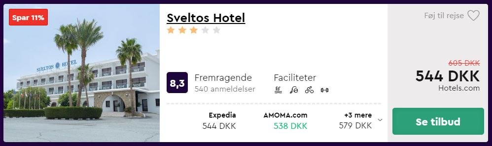 Sveltos Hotel - Cypern