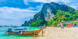 Tonsai Beach - Krabi i Thailand