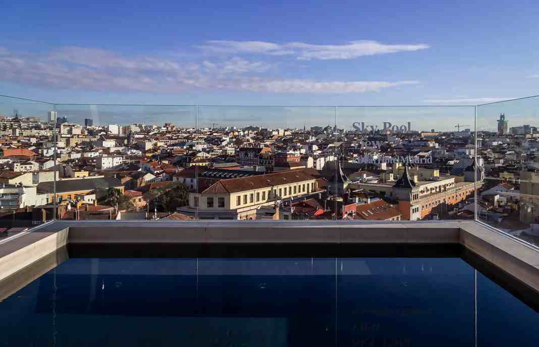 Vinter i Madrid - Spanien