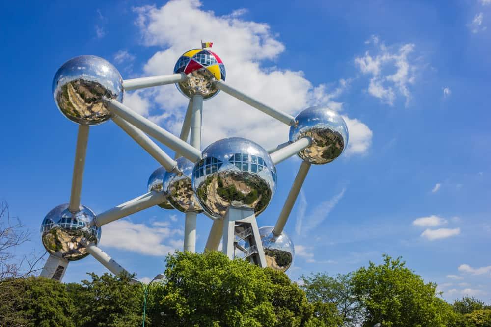 Atomium i Bruxelles - Belgien