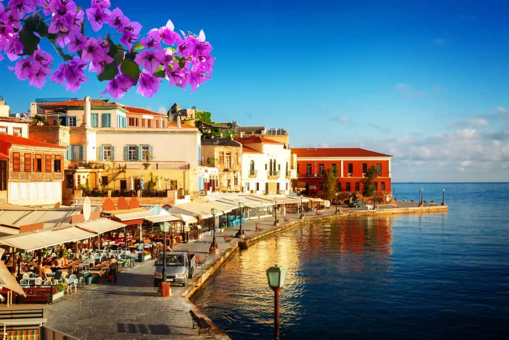 Chania på Kreta i Grækenland