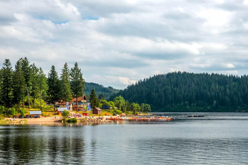 Schluchsee i Tyskland
