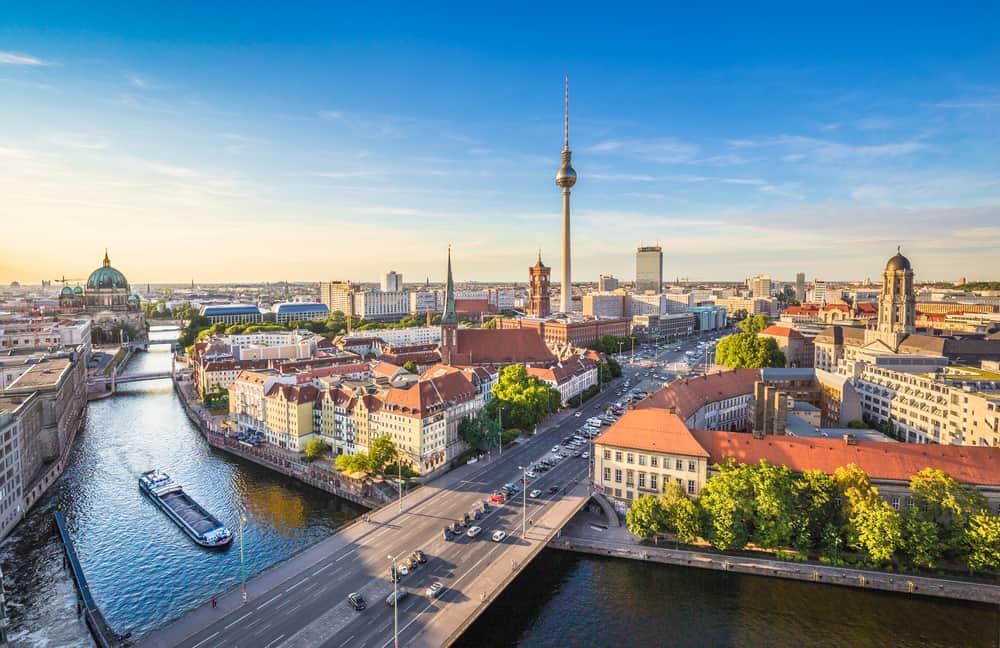 Berlin skyline - Tyskland