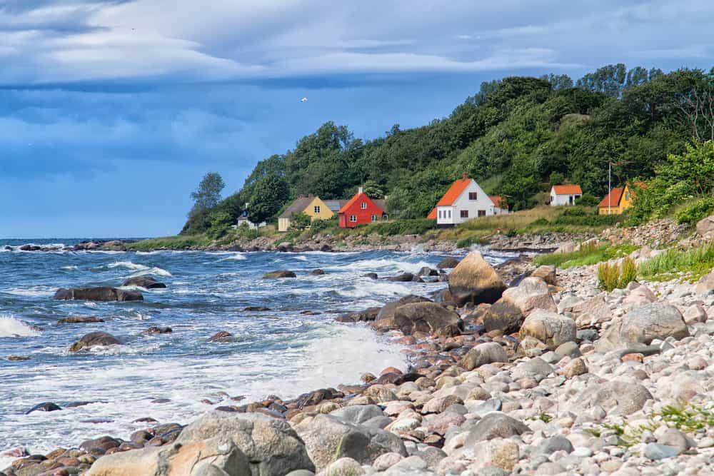 Sommer på Bornholm