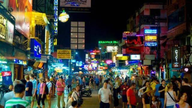 Thailand - Bangkok, Khao San Road - Reisen