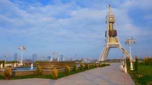 Turkmenistan - Ashgabad, monument - rejser