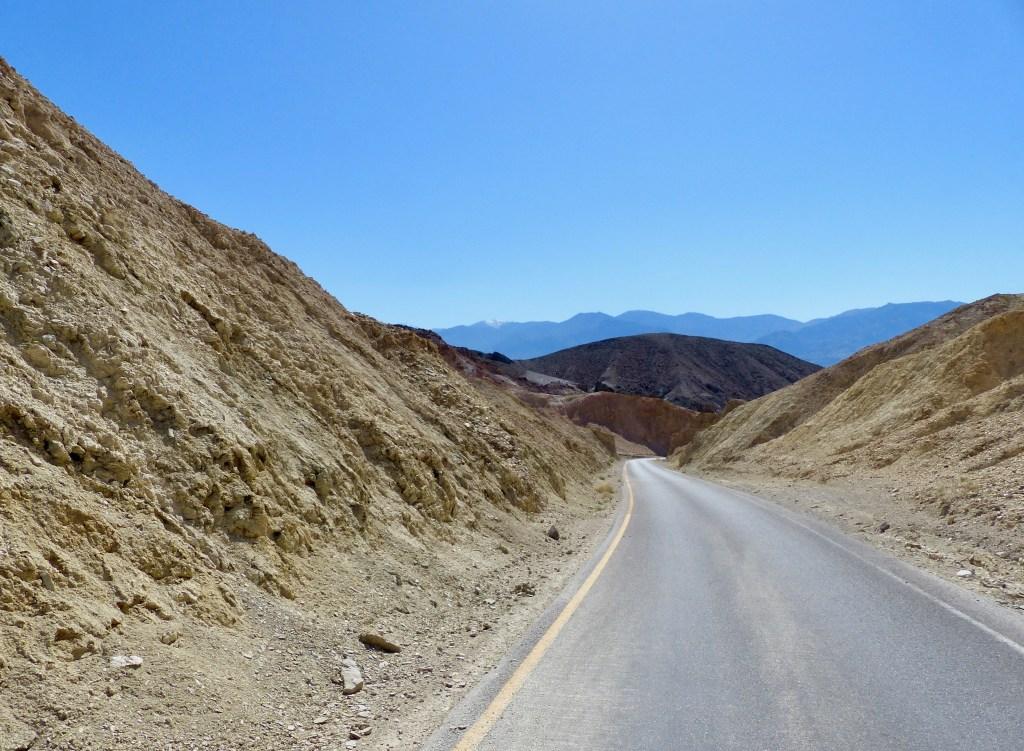USA - Death Valley, Artist Drive - rejser