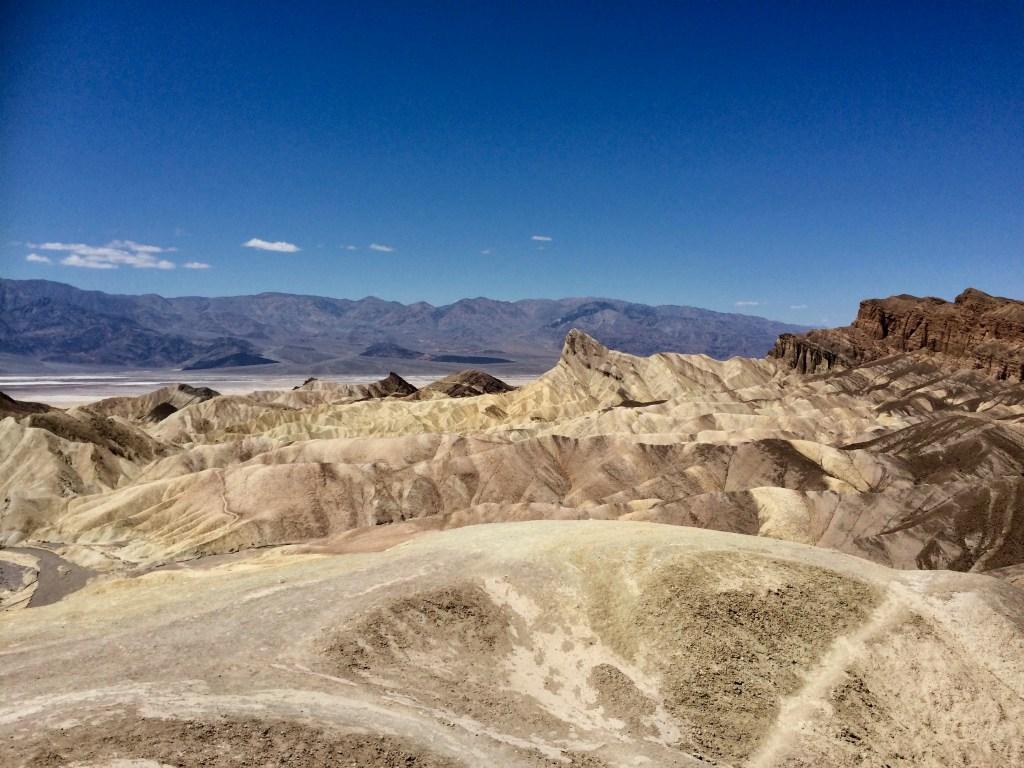 USA - Death Valley, Devils Golfcourse - rejser