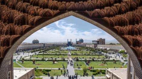 Iran - Isfahan - moske - rejse