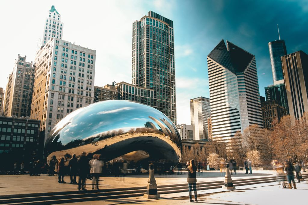 USA - Chicago, The Bean - travel