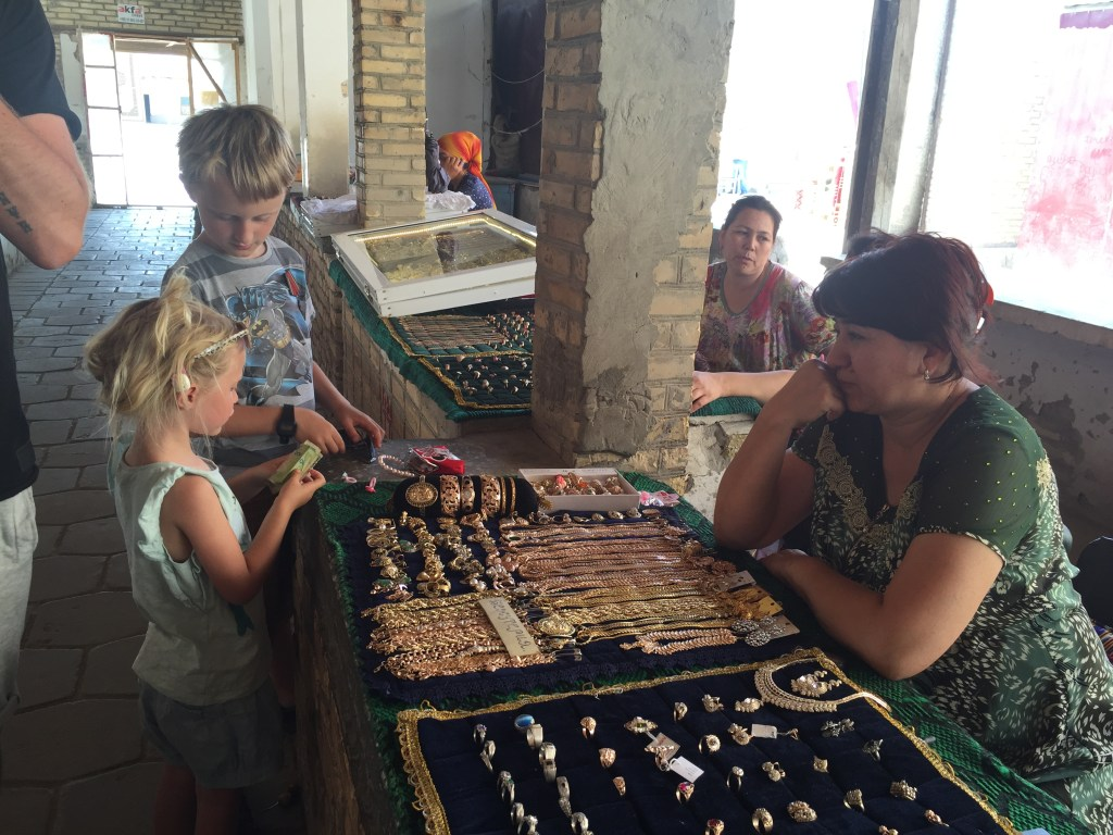 Uzbekistan - children - family travel - travel