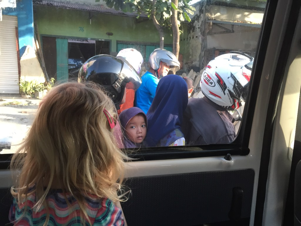 Indonesia - children - family trip - travel
