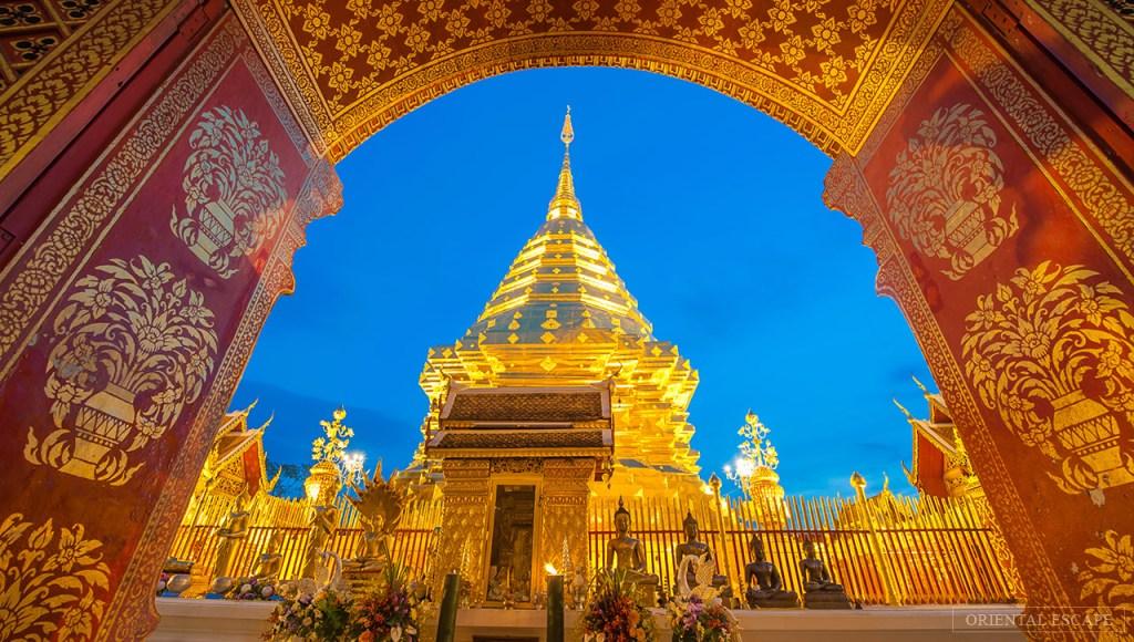 Thailand - Chiang Mai, Doi Suthep - rejser