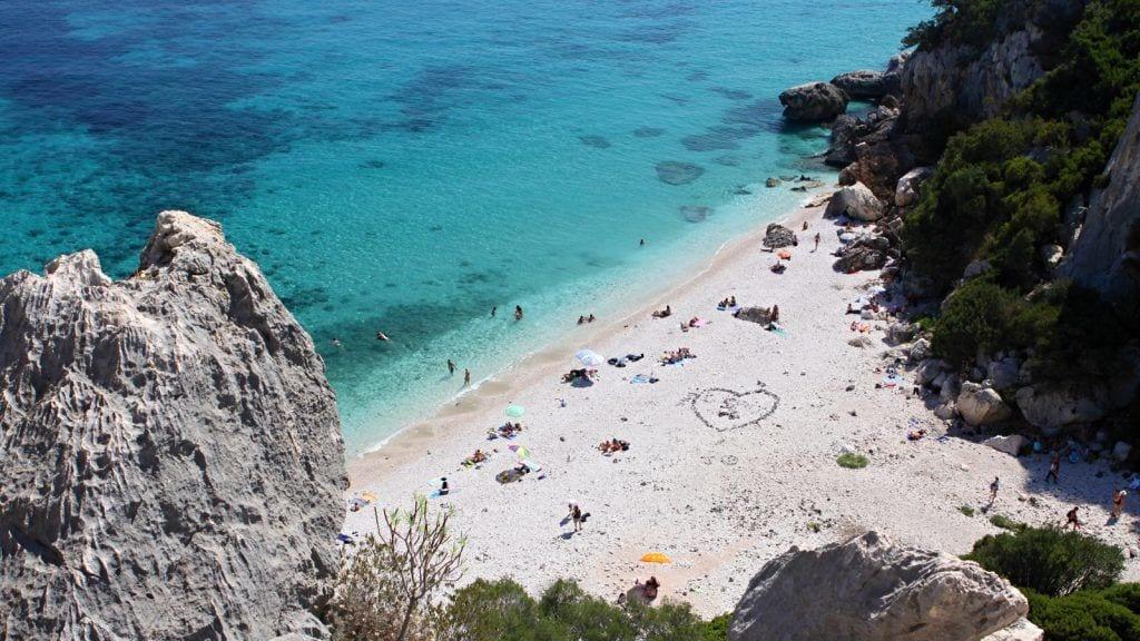 Sardinien Cala Gonone Strand Rejser