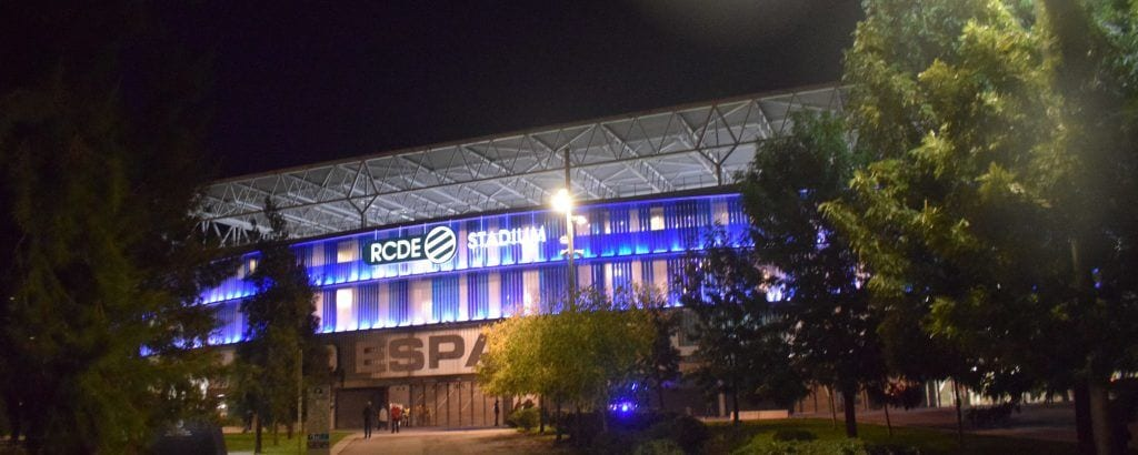 Spanien - Barcelona, Espanyol Stadium - rejser