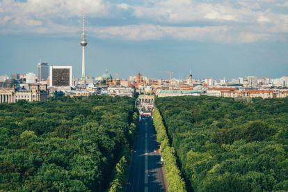 Tyskland Berlin Vej natur Rejser