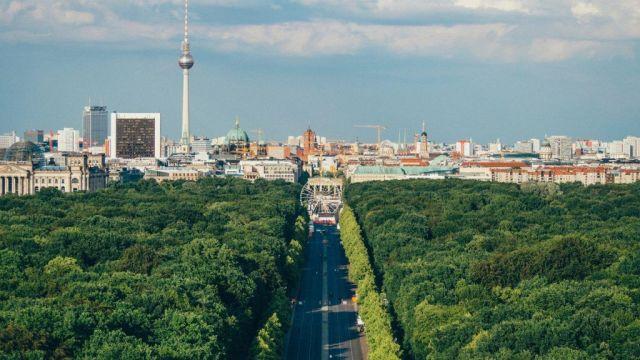 Njemačka Berlin Putovanje prirodom