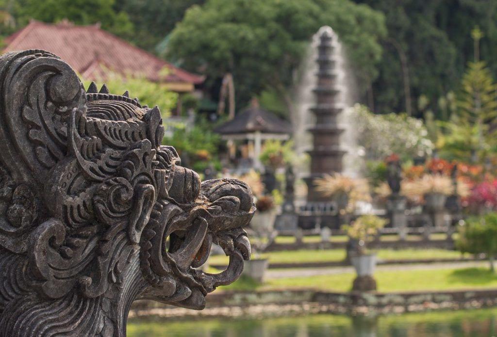 Indonesia - Bali, tempel - reise