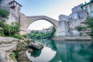 Bosnien - Mostar, bro - rejser