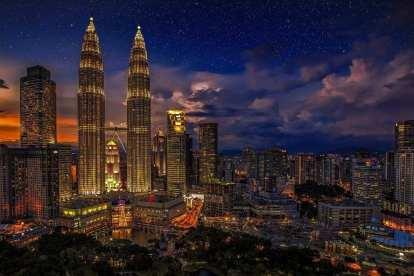 Malaysia - KL, nat - rejser