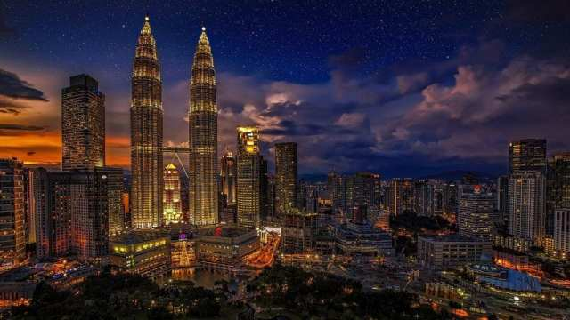Malaisie - KL, nuit - voyage