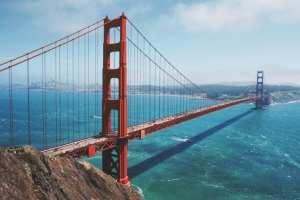 USA - San Francisco, Golden Gate Bridge - rejser