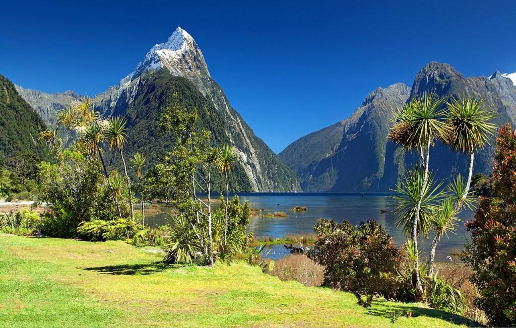 New Zealand - bjerge og vand - bedste rejselande - rejser