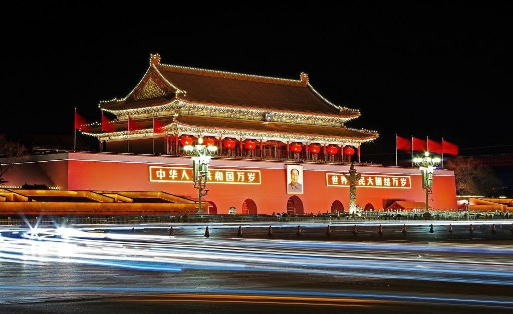 Kina - Beijing, Tiananmen, Mao - rejser