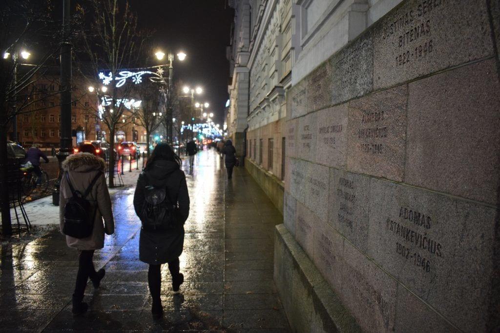 Litauen - Vilnius, KGB, mur - rejser