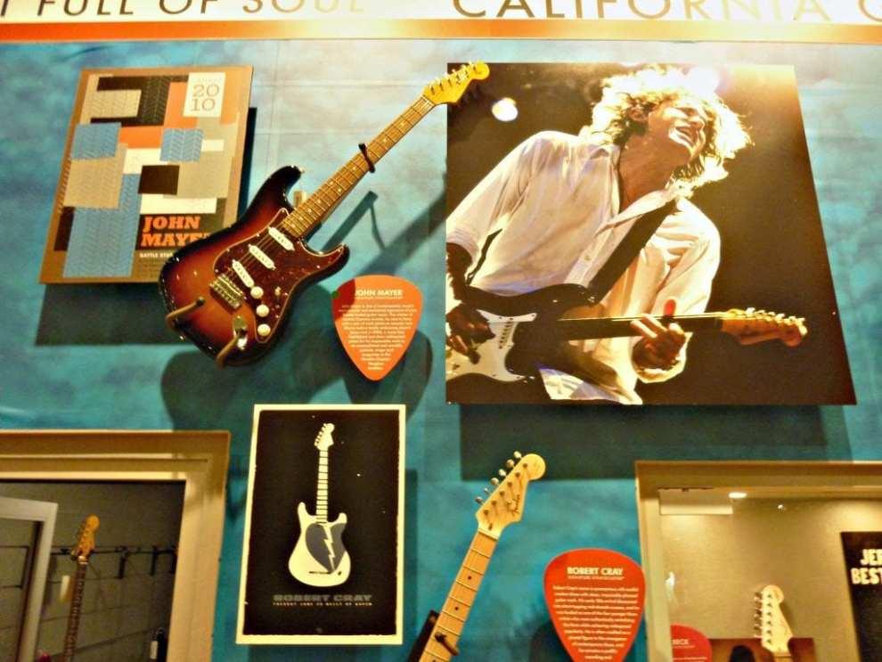 USA, Fenderfabrik - hall of fame, rejser