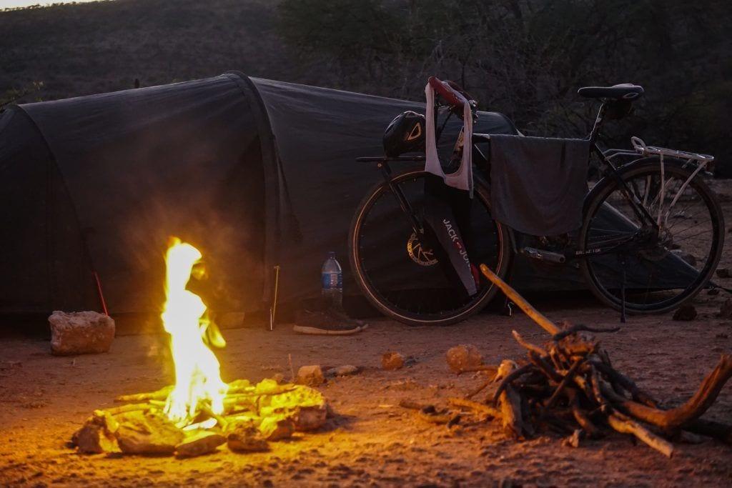 Afrika - Lejr