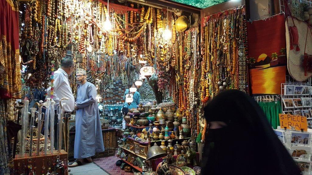 Oman - Muscat - Souq marked rejser