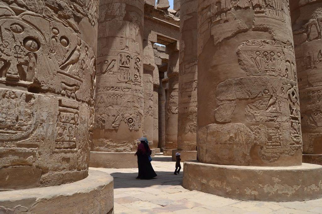 Egypten - Luxor, Karnak - rejser