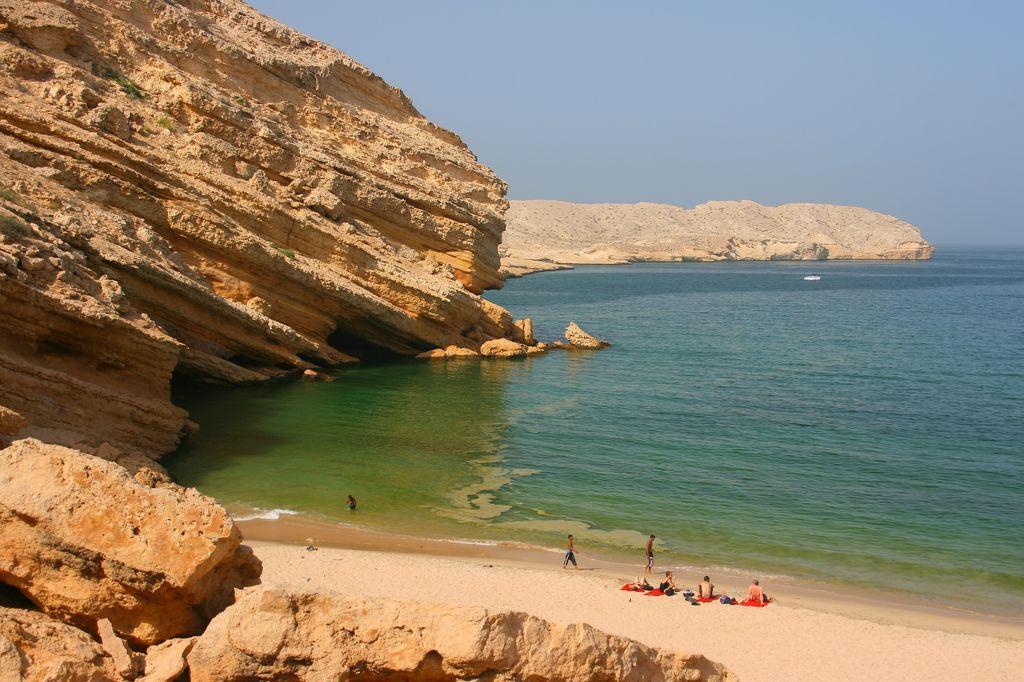 Oman - yiti beach - rejser