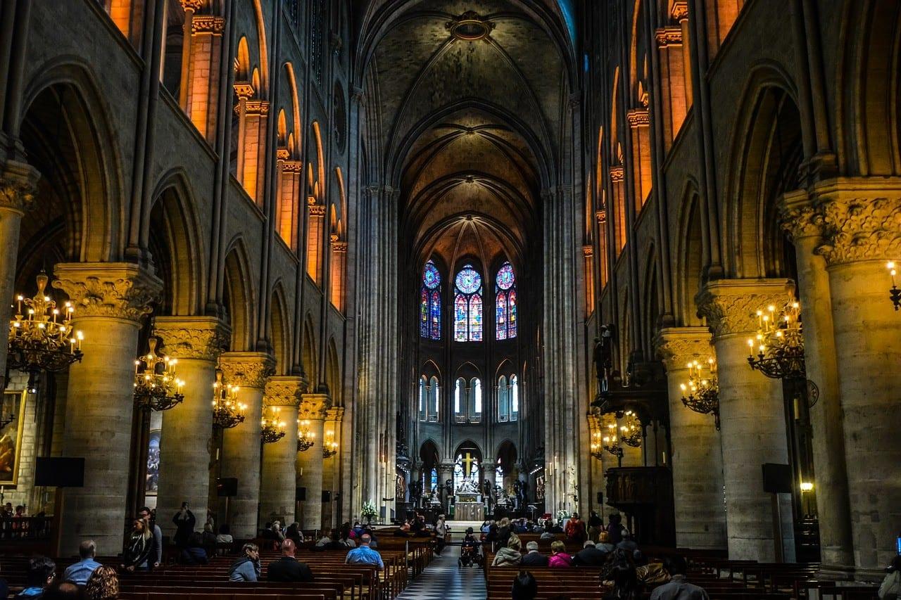 France - Paris, Notre Dame - travel