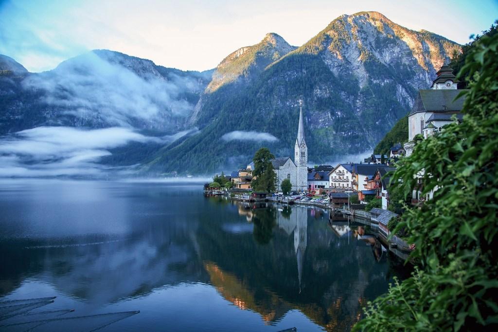 Østrig - hallstatt søen Rejse i Østrig - rejser