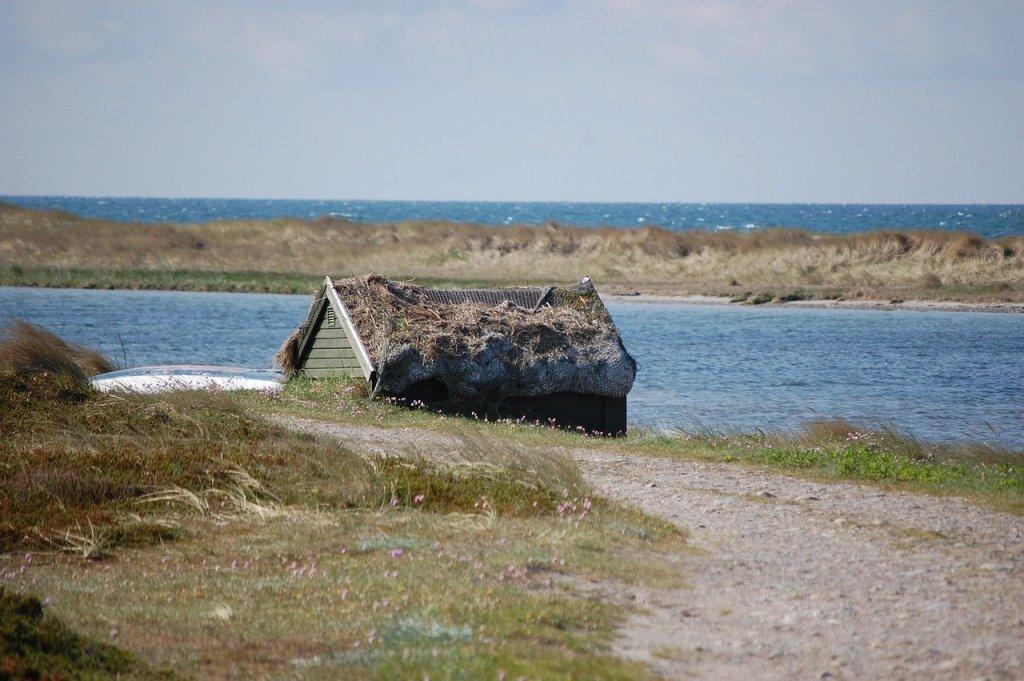 Danmark - Læsø, lille hus - rejser
