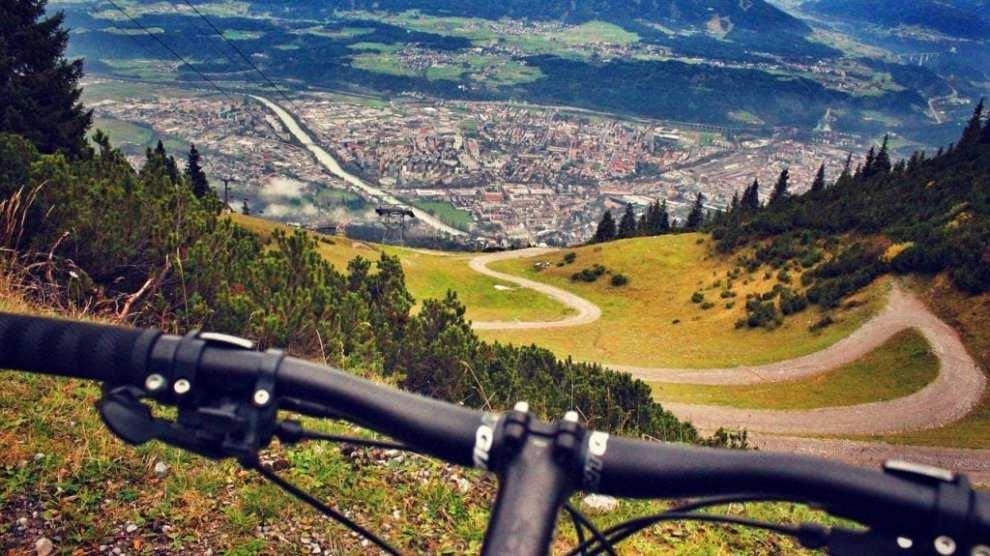 オーストリア-マウンテンバイク-旅行