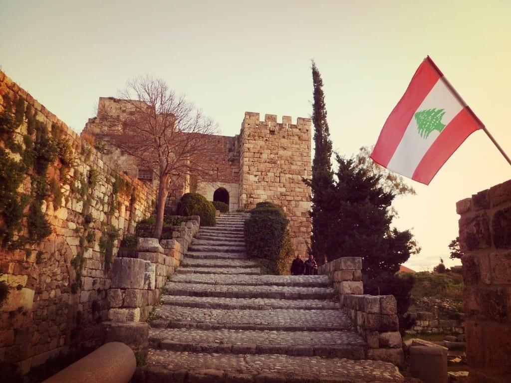 Libanon - byblos borg - castle - rejser