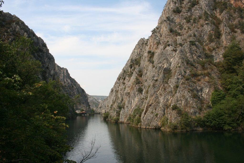 Macédoine - Lake Gorge Canyon - Voyage