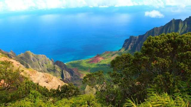 Hawaii - mountains sea nature - travel