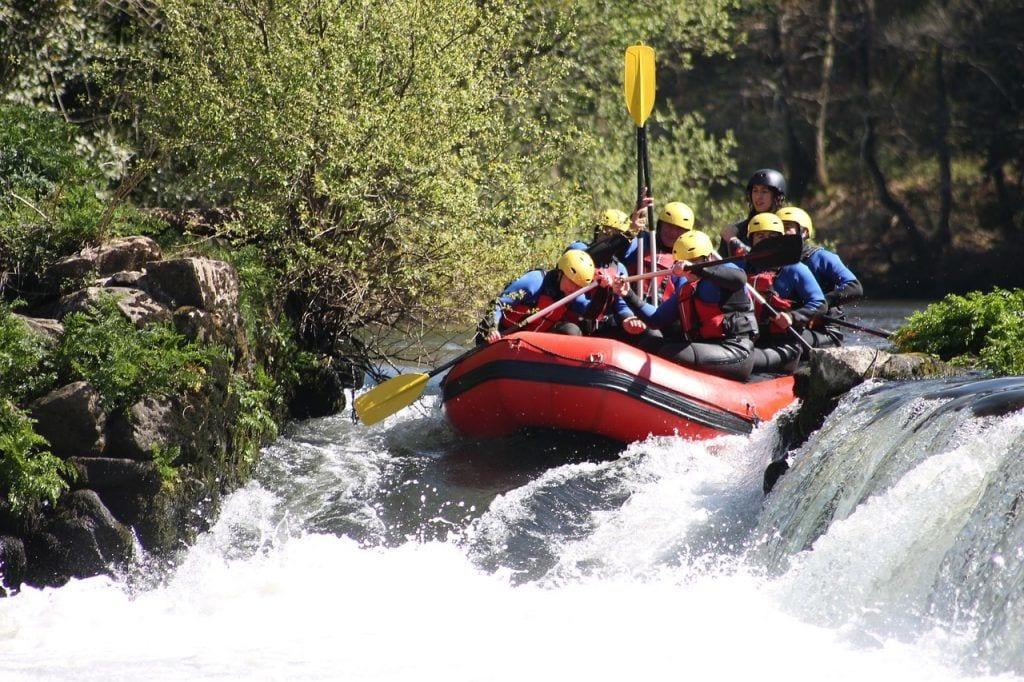 New Zealand - river rafting vand båd - rejser