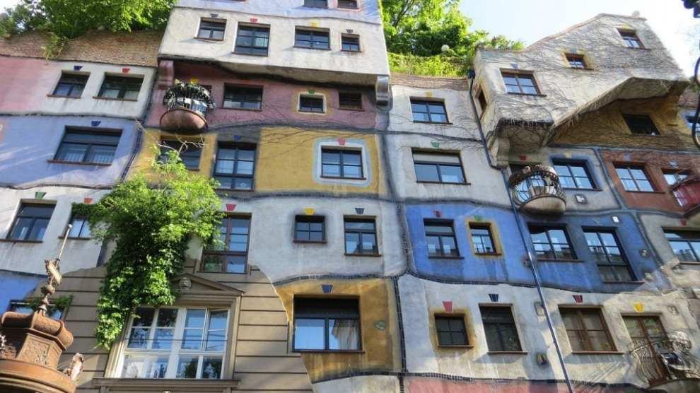 Austria - Vienna, Hundertwasserhaus - travel