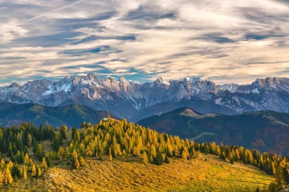 Österreich - Berge Naturalpen - Reisen