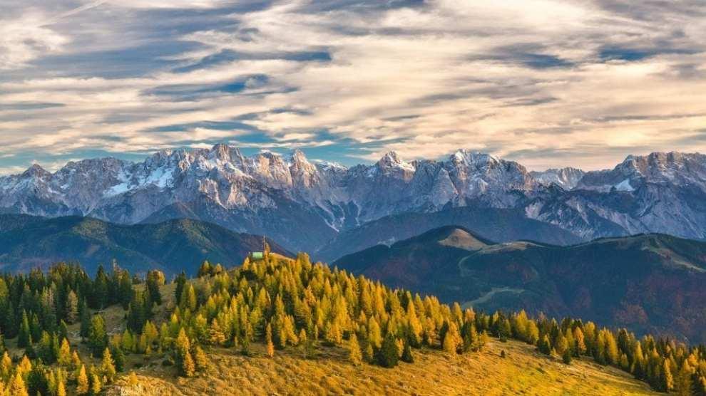 אוסטריה - הרי האלפים הטבעיים - הרי