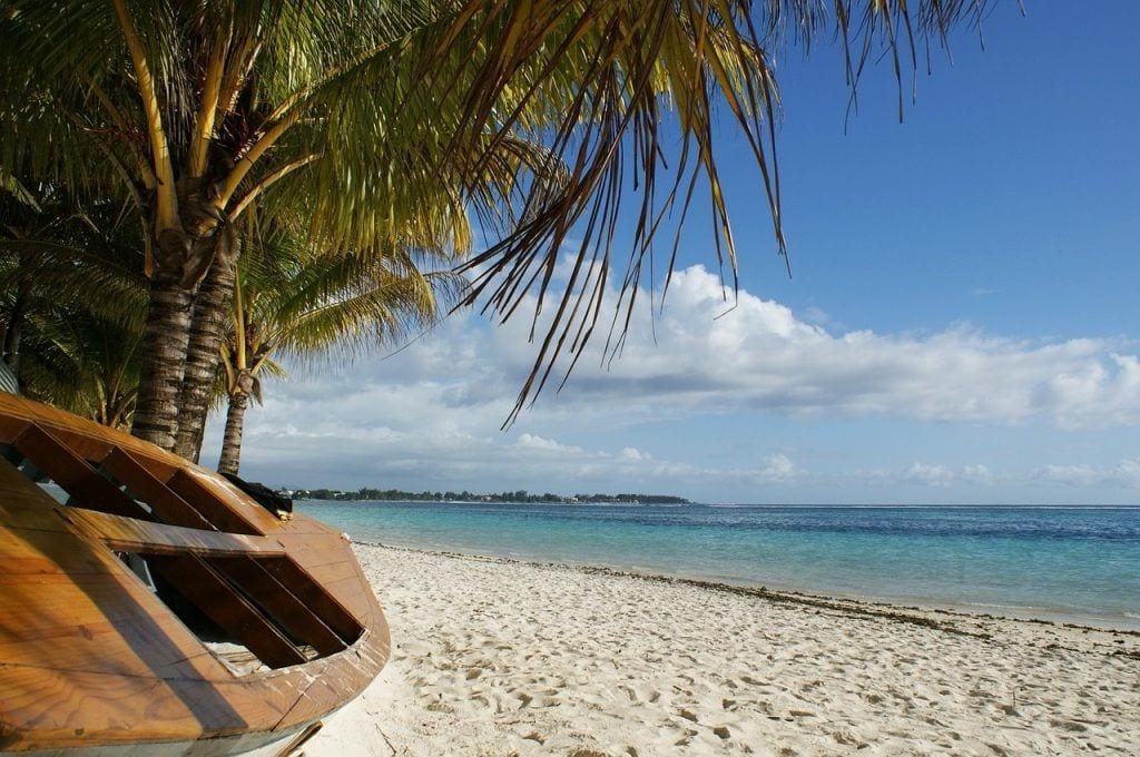 Mauritius - båd strand natur - rejser