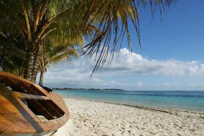 Mauritius - tekne kumsal doğa - seyahat