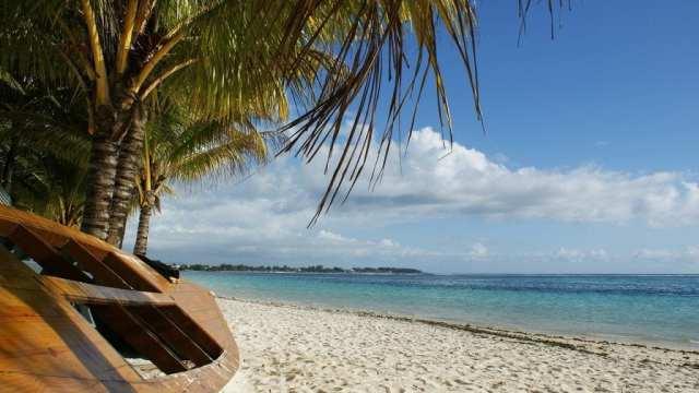Mauritius - boat beach nature - travel